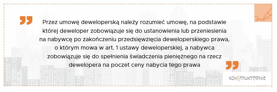 Umowy Deweloperskie - Prawnik Kraków